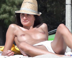 My holiday in croatia has been fantastic. My previous contri was a mix of models cameltoes, now it's a mix of nudist.